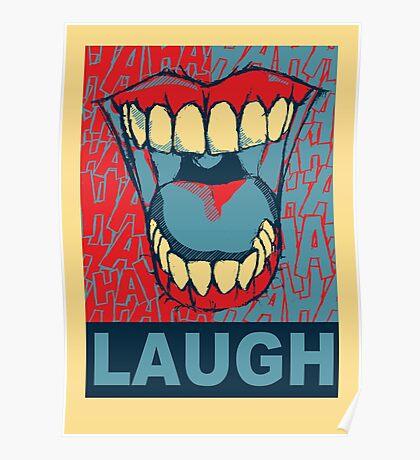 LAUGH Poster