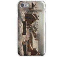 Winter Scene in Brooklyn - Francis Guy iPhone Case/Skin