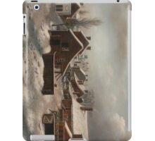 Winter Scene in Brooklyn - Francis Guy iPad Case/Skin