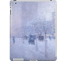 Late Afternoon New York Winter - Childe Hassam iPad Case/Skin