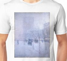 Late Afternoon New York Winter - Childe Hassam Unisex T-Shirt