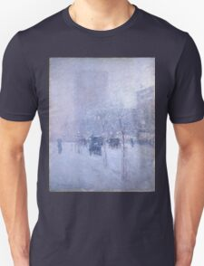 Late Afternoon New York Winter - Childe Hassam T-Shirt