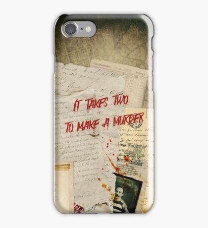Murder Board iPhone Case/Skin