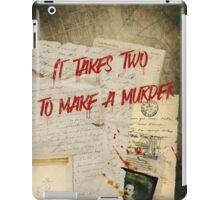 Murder Board iPad Case/Skin