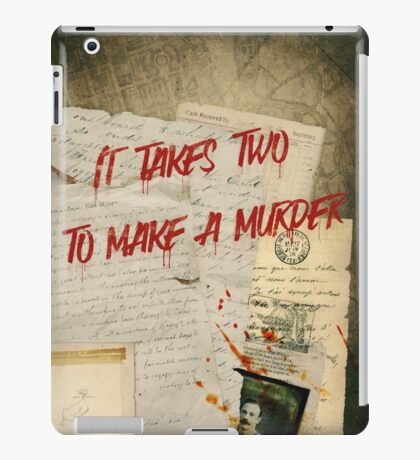 Murder Board iPad Case/Skin