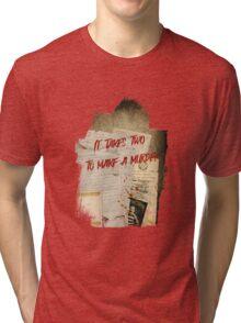 Murder Board Tri-blend T-Shirt