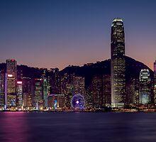Hong Kong Skyline by fernblacker