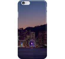 Hong Kong Skyline iPhone Case/Skin