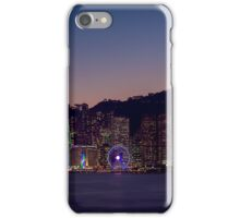 Hong Kong Skyline iPhone Case/Skin