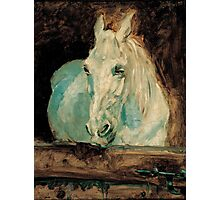 The White Horse Gazelle - Henri Toulouse-Lautrec Photographic Print