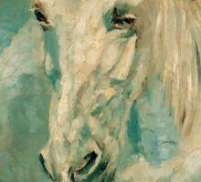 The White Horse Gazelle - Henri Toulouse-Lautrec Sticker