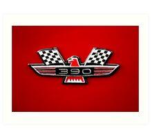 390 Galaxie 500 Logo Art Print
