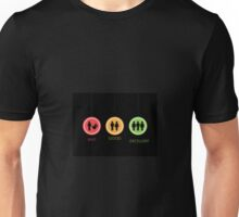 Bad, good and excellent - classy signs Unisex T-Shirt