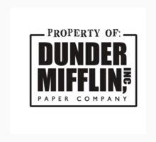 Dunder Mifflin Kids Clothes