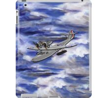 A Saro Cloud A29 of the Royal Air Force iPad Case/Skin