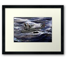 A Saro Cloud A29 of the Royal Air Force Framed Print