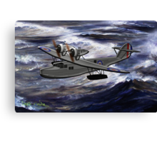 A Saro Cloud A29 of the Royal Air Force - all products except duvet Canvas Print