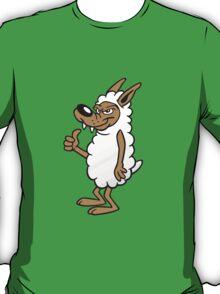 Wolf Cartoon T-Shirt