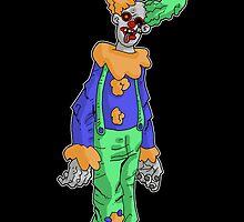 zombie clown... by kangarookid