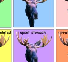 (Advanced) Moose Moods Sticker