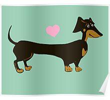 Minty Dog Poster
