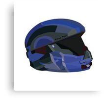 Halo 5 Recruit Helmet Canvas Print