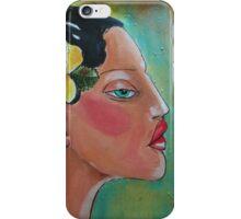 Tropical Woman iPhone Case/Skin