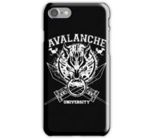 Avalanche University FVII iPhone Case/Skin