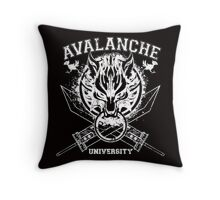 Avalanche University FVII Throw Pillow