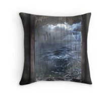 Reflection of a conscience Throw Pillow
