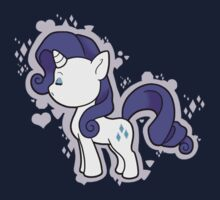Chibi Rarity Kids Tee