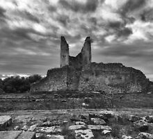 Tower of Velia, Italy - Back View by joeschmied