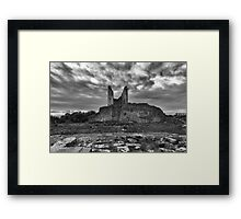 Tower of Velia, Italy - Back View Framed Print