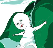 Big World Baby by jennyhamilton