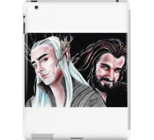 Thorin vs Thranduil iPad Case/Skin