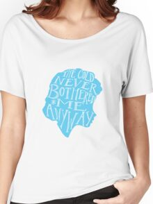 The Cold Never Bothered Me Anyway Women's Relaxed Fit T-Shirt