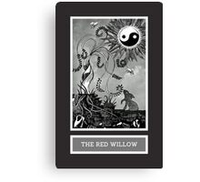 Shadow Season: THE RED WILLOW Canvas Print