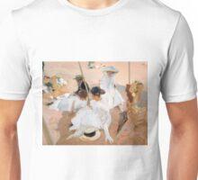 Under The Awning, On The Beach at Zarauz - Sorolla Unisex T-Shirt