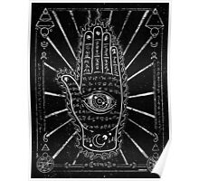 Hamsa Hand, Hand with Eye Poster
