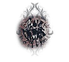 Kuroshitsuji (Black Butler) - Ciel, Sebastian and Drocell [Band Version] Photographic Print