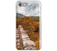 Bridge over troubled water iPhone Case/Skin