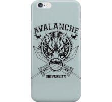 Avalanche University FVII v2 iPhone Case/Skin