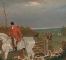 The Suffolk Hunt - John Frederick Sticker