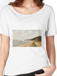 Afternoon Sailing - John F. Peto Women's Relaxed Fit T-Shirt