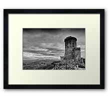 Tower of Velia, Italy Framed Print