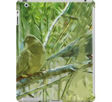 Mourning Doves at Sunrise Abstract Impressionism iPad Case/Skin