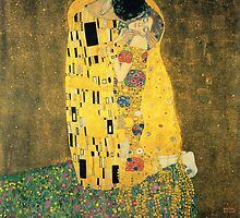 The Kiss - Gustav Klimt by BravuraMedia