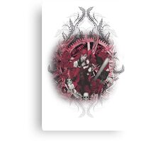 Kuroshitsuji (Black Butler) - Grell Sutcliff and Madame Red Canvas Print