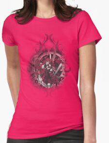 Kuroshitsuji (Black Butler) - Grell Sutcliff and Madame Red Womens Fitted T-Shirt