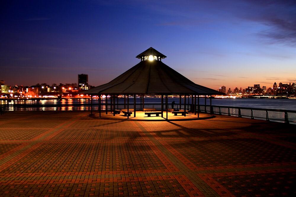 Hoboken Park view by pmarella